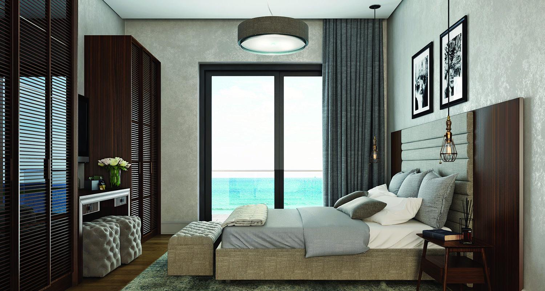 Naringi Sahil Evleri Yatak Odası
